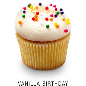 DC Cupcake's Georgetown Vanilla Cupcake  Recipe from Live! with Kelly:  http://dadt.com/live/recipe-finder.html?recipeID=13474