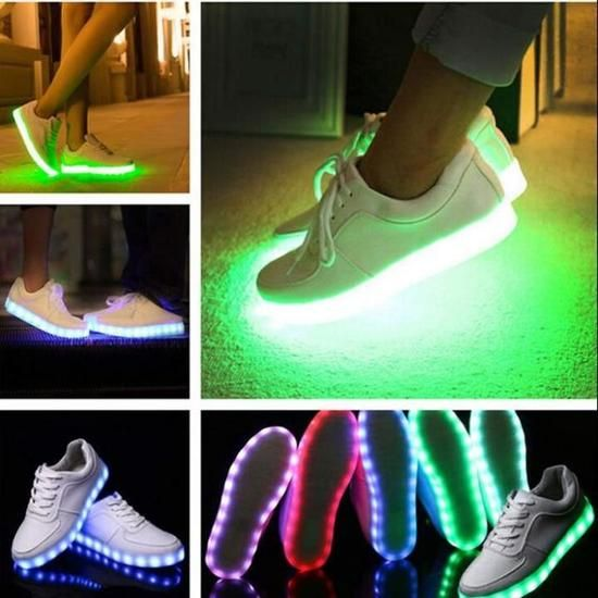 Mode LED lumière chaussures Sportswear Sneaker ...   Chaussures ...
