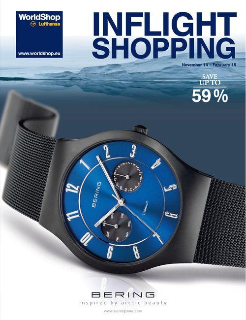 client: Lufthansa World Shop  product: catalogue INFLIGHT SHOPPING november 2014