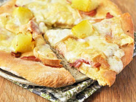 Pizza raclette #pizza #raclette #qooq