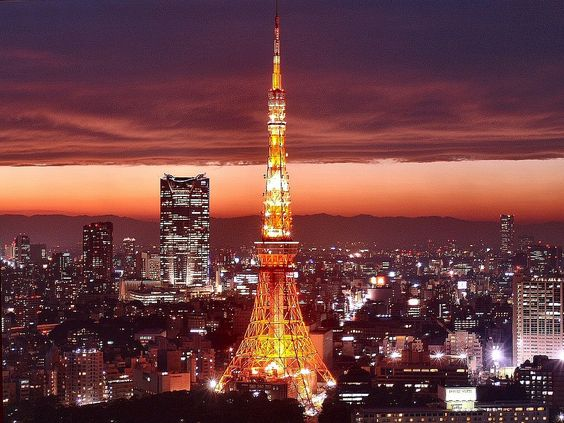 Tokyo. You're no Effiel Tower...but in Japan..you'll just have to do...best memory...toasting champagne with my cousin and this was our view!