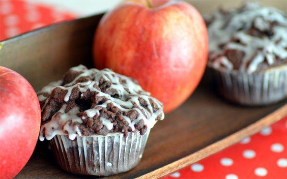Ninas kleiner Food-Blog: Apfel-Schoko-Streusel-Cupcakes