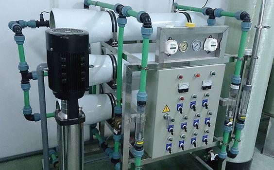 quy trình xử lý nước ro