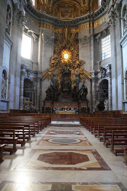 St. Peter's Catholic Basilica, Vatican, Rome