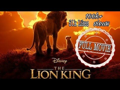 The Lion King Full Hd Movie In Tamil 2019 Youtube With Images