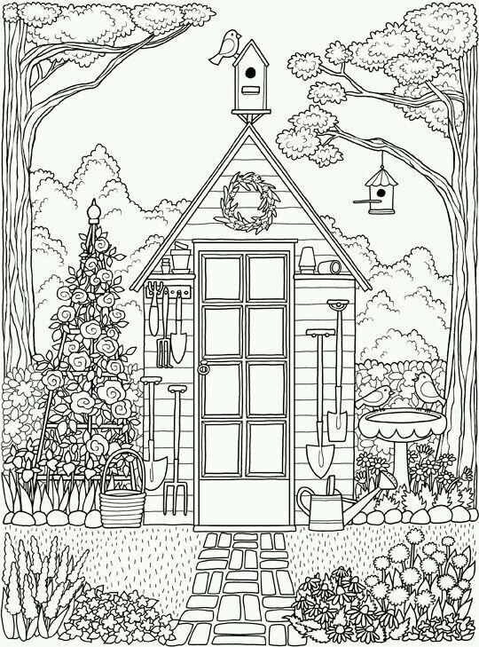 Pin By Dang Cordero On Stress Coloring Coloring Pages Colouring Pages Garden Coloring Pages
