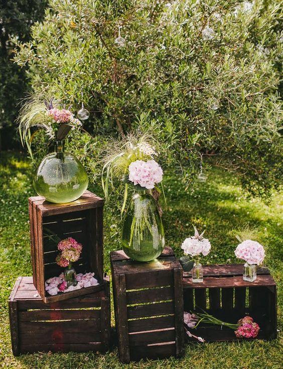 Si queremos incluir cierto aire buc lico y campestre qu - Como decorar para una boda ...