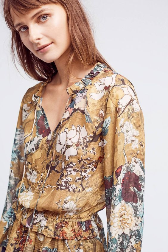 Keystone Silk Blouse - anthropologie.com