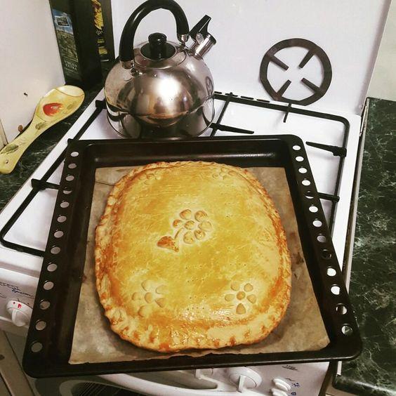 Капустный пирог на дрожжевом тесте рецепт с 142