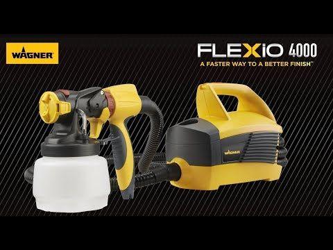 Flexio 4000 Sprayer Paint Sprayer Sprayers Outdoor Paint