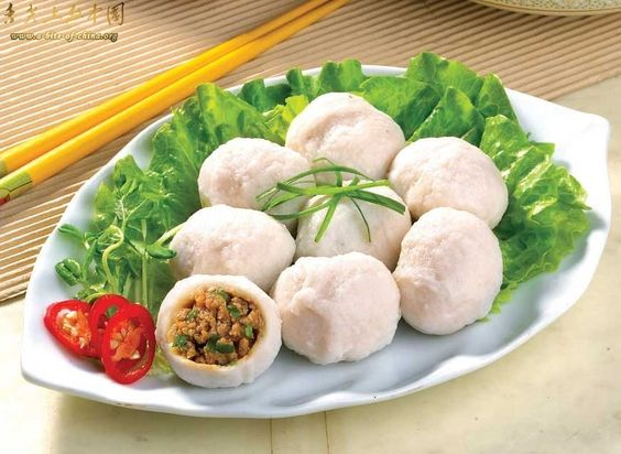 Stuffed fish meat balls fujian cuisine traditional for Ancient chinese cuisine