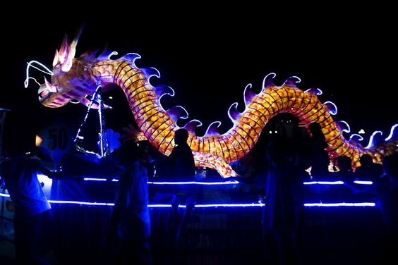 cool Mid-Autumn Festival in Asia kicks off with dragons, lanterns and mooncakes