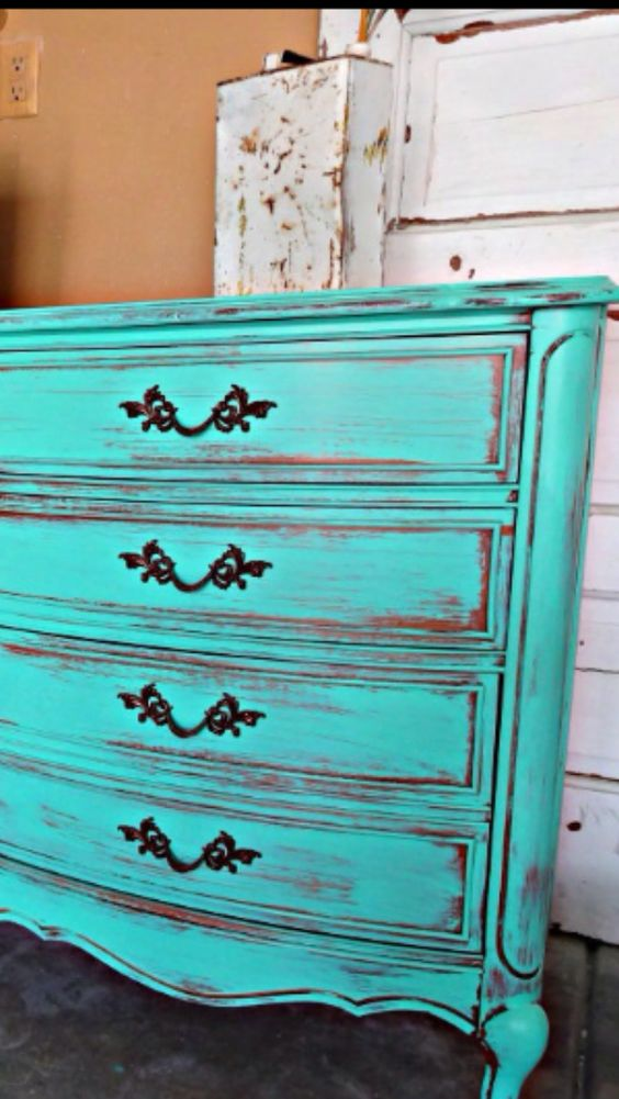 drawers shabby chic furniture furniture love this colour shabby love ...