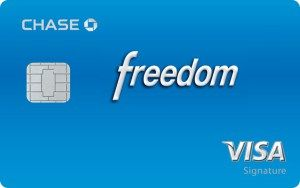 Access Chase Freedom Credit Card Login