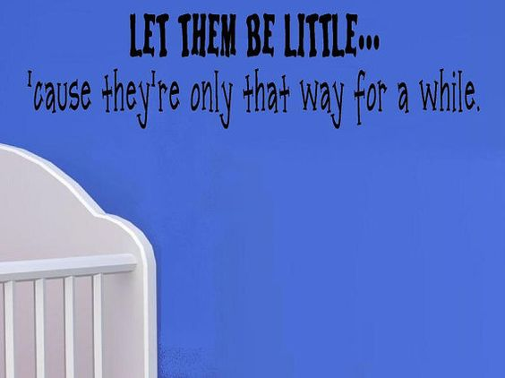 vinyl wall decal quote  Let them be por WallDecalsAndQuotes en Etsy