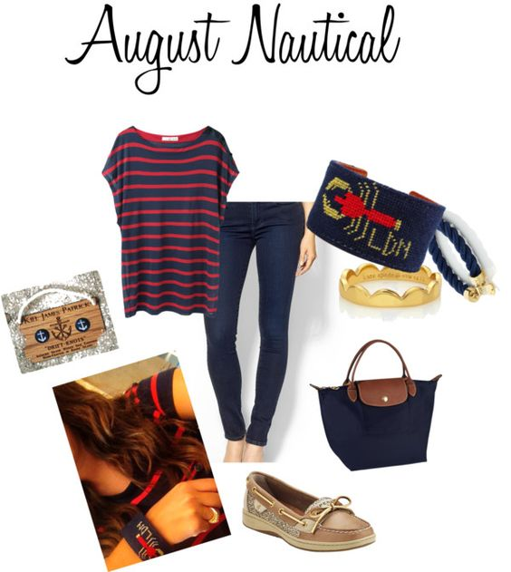 What to Wear Wednesday: August Nautical