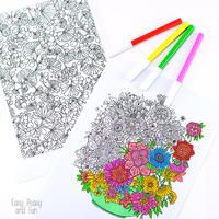 32 Adult Coloring Book Pages | FaveCrafts.com