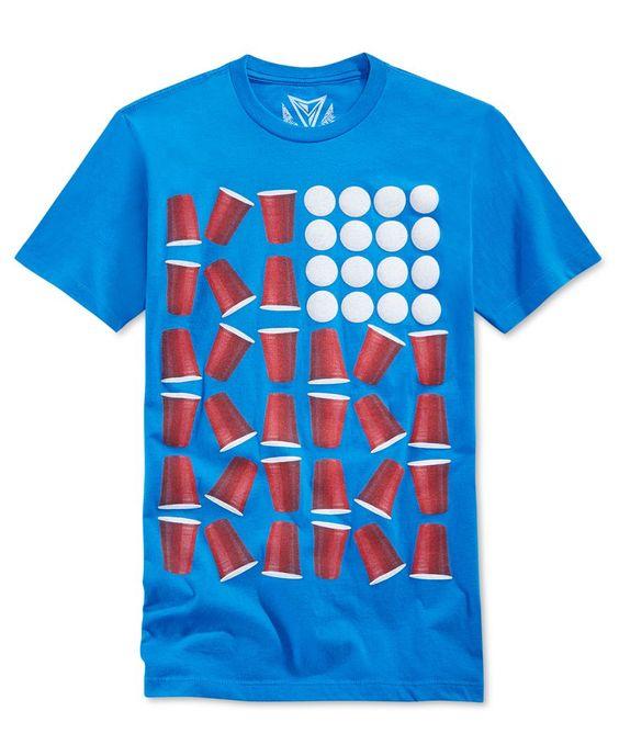 Univibe Men's Beer Pong T-Shirt