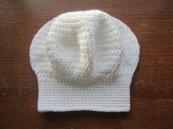 A Chick w/ Sticks: Chef hat FREE Pattern