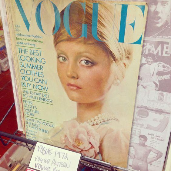 inspirational magic:) new blog post. #vogue #vintagemagazine #1972 #fashion
