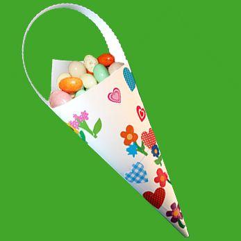 Pochette à oeufs de Pâques en papier