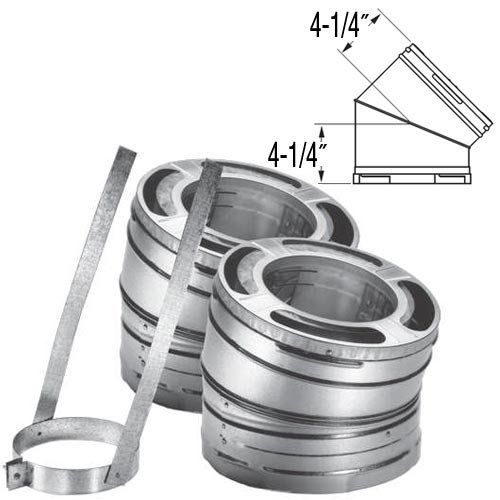 8 Duraplus 15 Degree Galvanized Elbow Kit 9264kit Read More Reviews Of The Product By Visiting The Link On The Im Roofing Galvanized Roof Vents