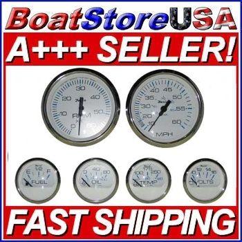 Faria Chesapeake Series 6 Gauge Set Inboard KTF001 | eBay