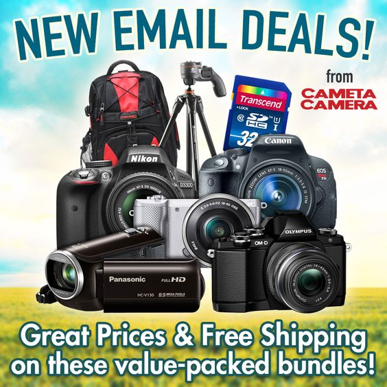 More Great Deals on Value-Packed Camera Bundles at Cameta Camera! (july 22 - july 29, 2014)