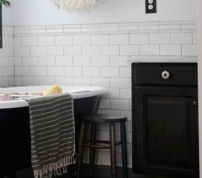 Metro Tile Dado Coastal Lifestyle Pinterest Tile And