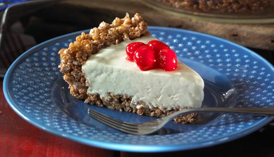 ... -lemon pie is cool and creamyand has a crispy cocoa-licious crust