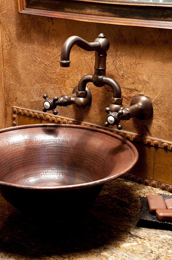 Vessel Sink Wow Factor Worth It You Decide Rustic Bathroom Sinks Rustic Bathrooms Rustic Sink