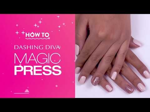 Get The Best Press On Nail Look With Dashing Diva S Magic Press Nails Long Lasting Chip Proof Fast To Apply An In 2020 Best Press On Nails Press On Nails Diva Nails
