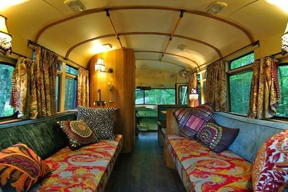 5 Buses remade into beautiful homes: