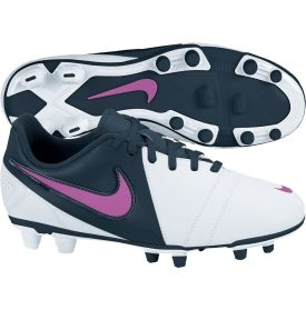 Nike Women's CTR360 Enganche III FG Soccer Cleat - White/Navy | DICK'S Sporting Goods