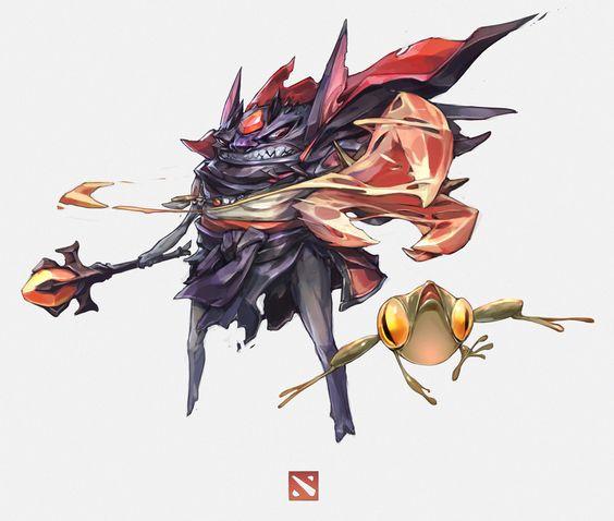 ArtStation - Demon Witch, Tan Zhi Hui