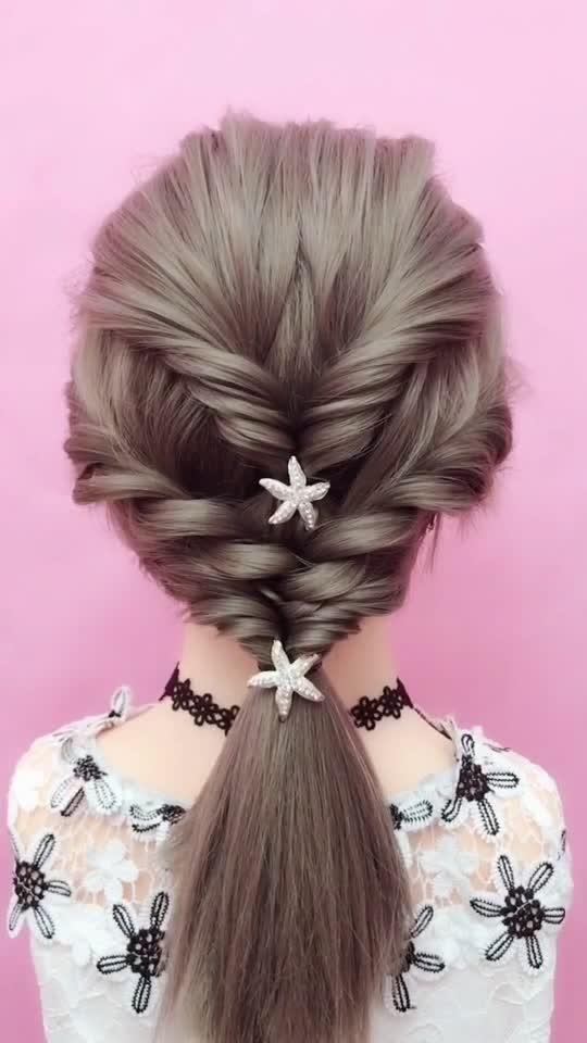 Hair Tutorial Pink Hair Tiktok Space Buns Thin Hair Life Hack Hacks Diy Edgy Trendy Hairstyle 25550897 Hair Bun Tutorial Hair Tutorial Hairstyles For Thin Hair