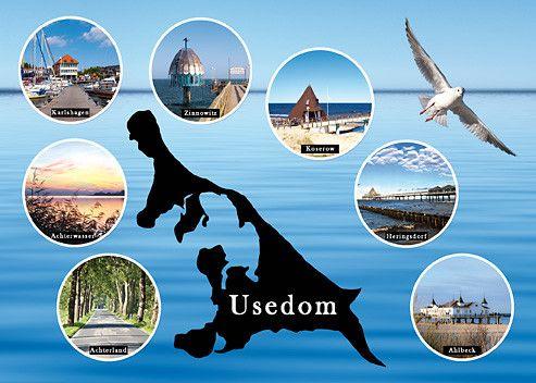 Fotos von der Insel Usedom von André Rau auf Poster, Leinwand oder Postkarte bestellen. - www.UsedomCards.de