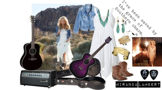 """Miranda Lambert"" by polylover-katt ❤ liked on Polyvore"