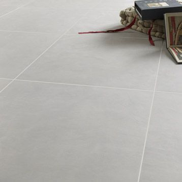 Carrelage interieur studio en cerame pleine masse gris for Carrelage gris leroy merlin