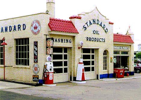 Back when they pumped your gas, clean your windsheld, and checked your oil. Now that was service.