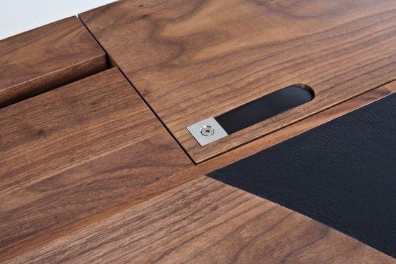 Hyde writing desk by sam aylott at Coroflot.com