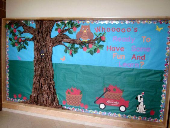 Classroom Bulletin Board Ideas With Owls : Bulletin boards school and owl