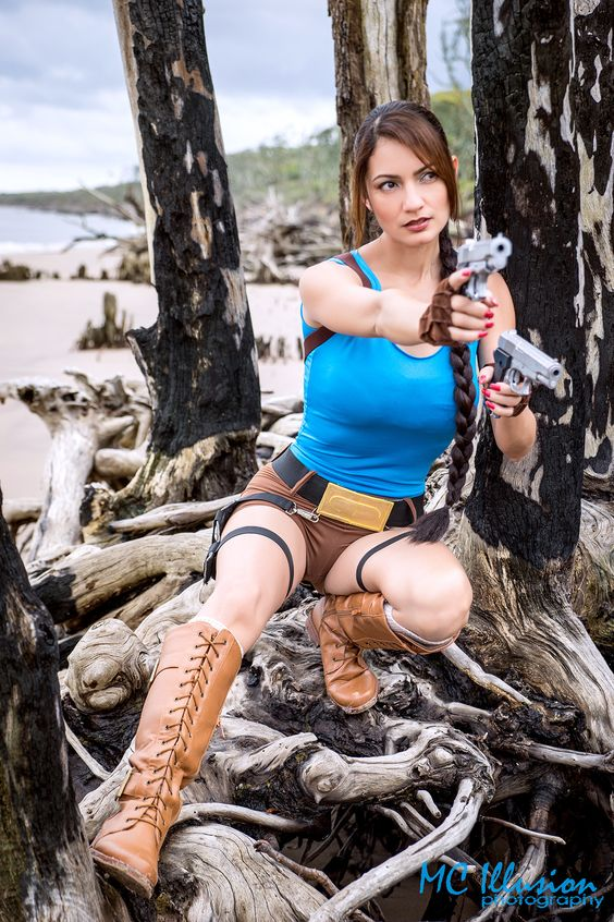 Lara Croft - Lara Croft from TombRaider  Cosplayer Ivy Cosplay  MC Illusion Photography