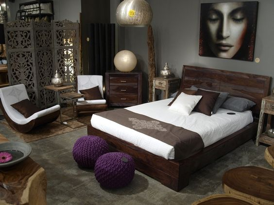 chambre coucher zen home sweet home pinterest. Black Bedroom Furniture Sets. Home Design Ideas