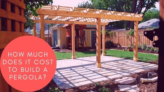 How Much Does It Cost Choose A Pergola Design Install It Pergola Cost To Build Pergola Designs