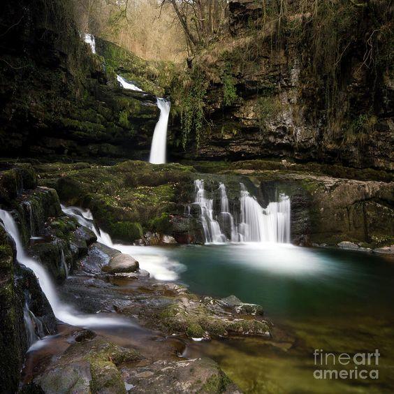 Brecon Beacons Waterfalls Photograph