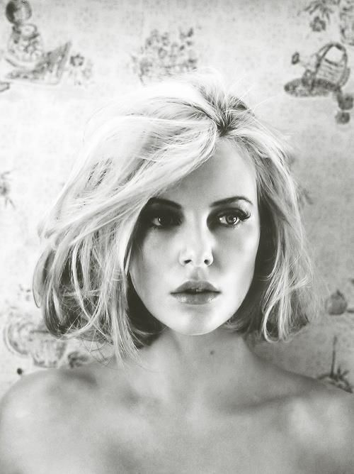 charlize theron. I believe she is the prettiest girl I've ever seen.