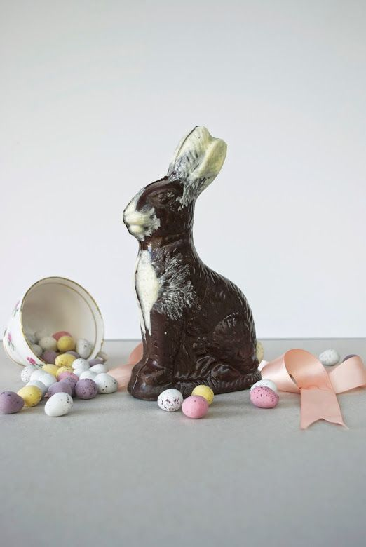 Chocolate Easter Bunny DIY Tutorial - Stone Cold Comfort