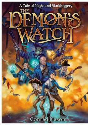 The Book Zone: Review: The Demon's Watch by Conrad Mason