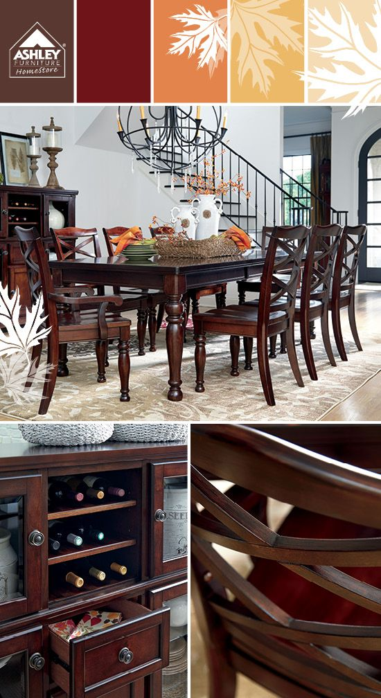 The Chanella Dining Room Server From Ashley Furniture HomeStore (AFHS.com).  | Dining Room Ideas | Pinterest | Dining Room Table, Room And House